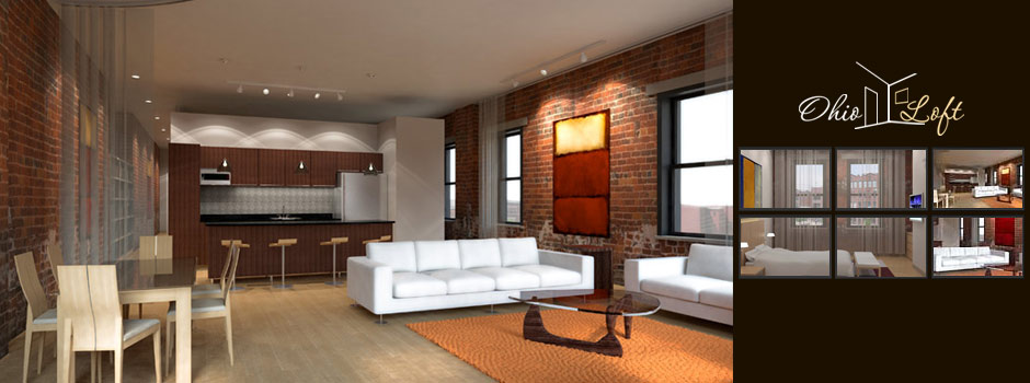 Ohio Loft // Adobe Flash Design